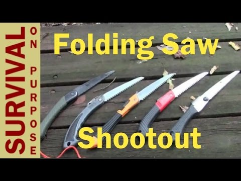 Which Is The Best Folding Saw?