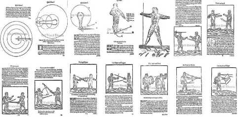 The Swordsman's Library Sword Fencing Pics 1